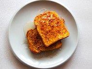 Пържени филийки със сарайско сладко